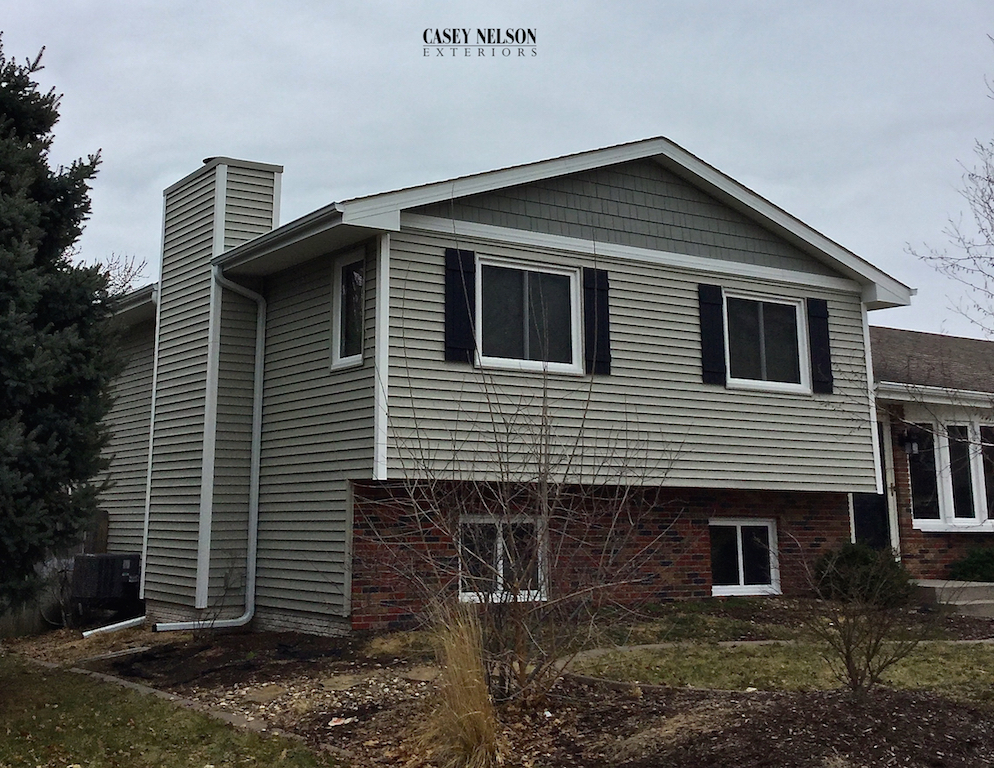 Lincoln and Omaha Mastic Vinyl Siding
