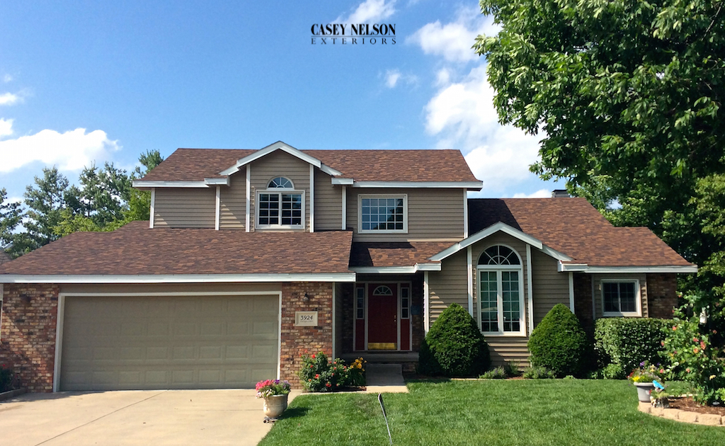 Siding omaha casey nelson exteriors for Exterior remodel and design omaha