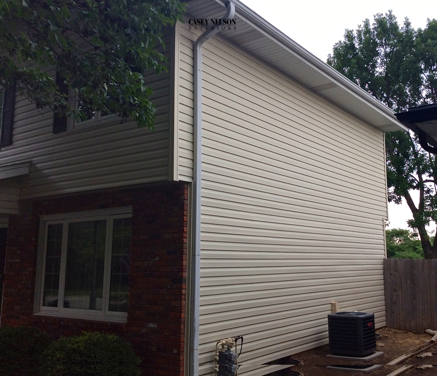 "Dutch 5"" Almond Vinyl Siding"
