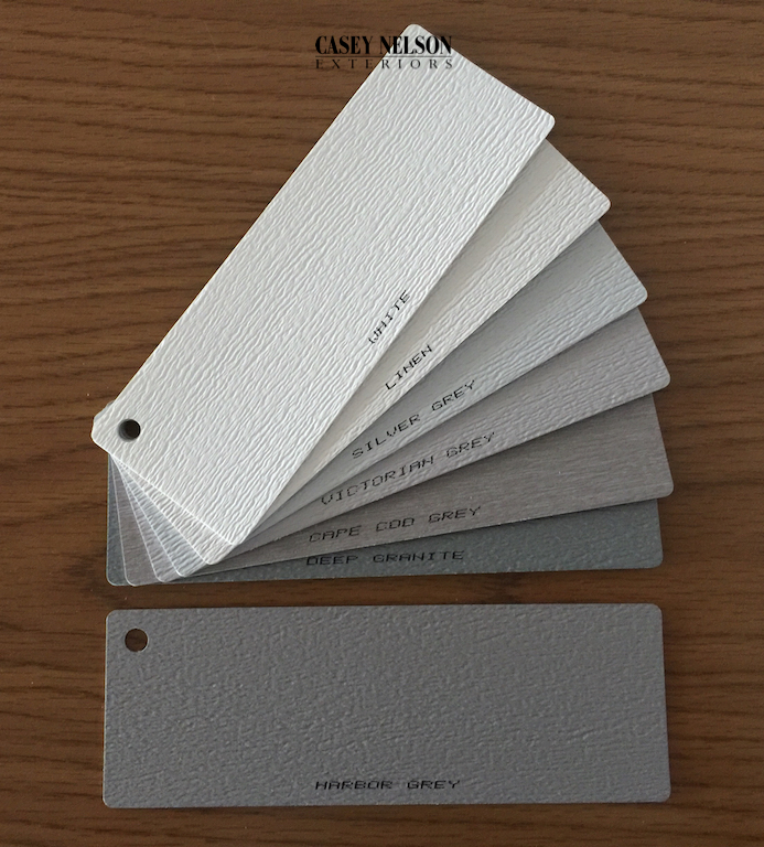 Mastic Grey Color Samples